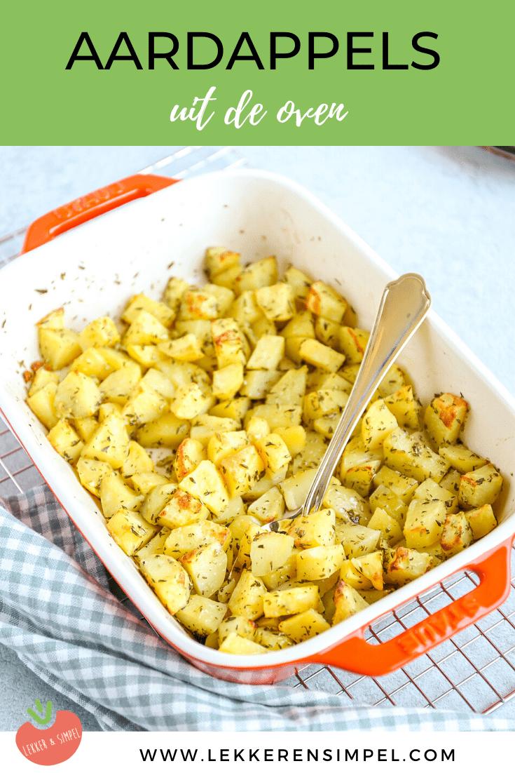 Aardappels met rozemarijn uit de oven
