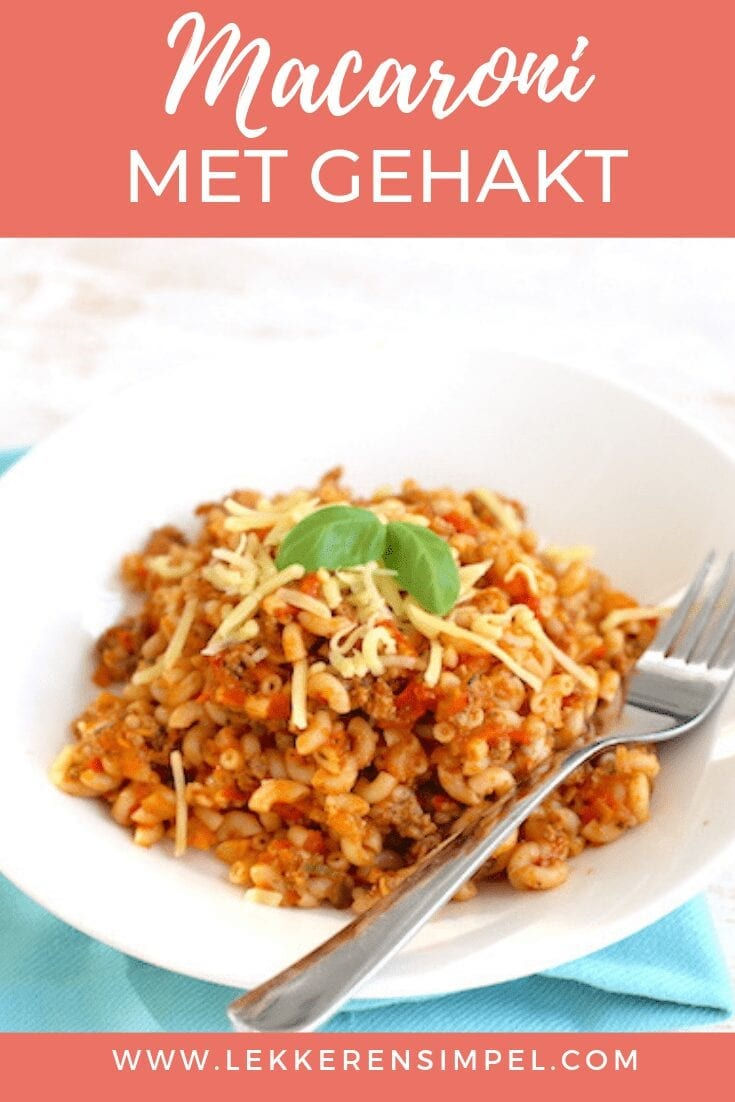 macaroni met gehakt