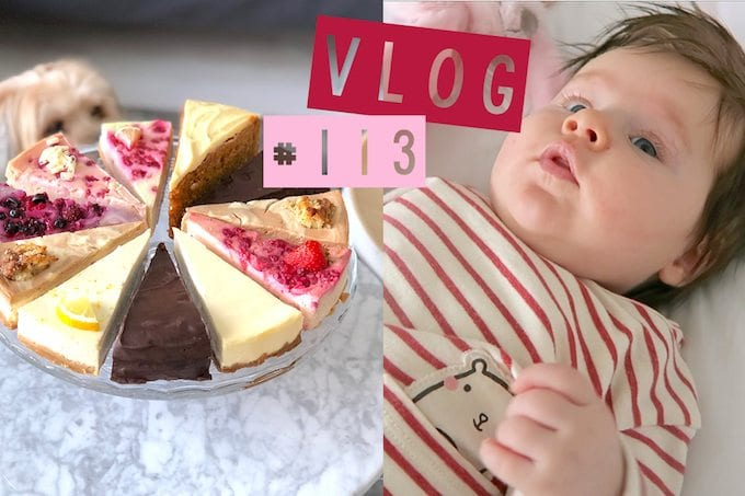 Vlog #113: Jorrit jarig & cheesecake