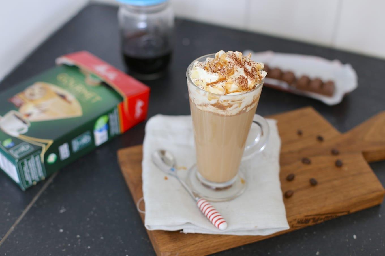 Koffie met salted caramel