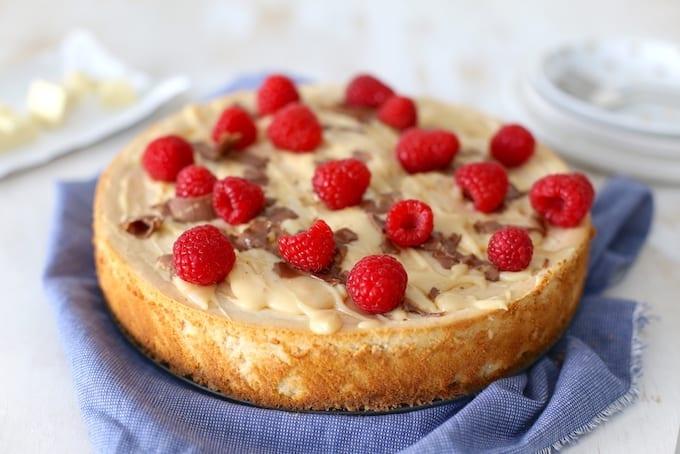 Speculaas cheesecake met chocola