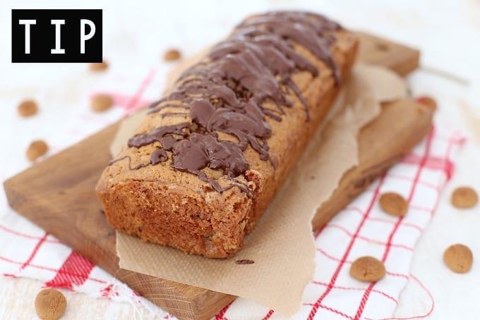 Wat te doen met overgebleven kruidnoten en chocoladeletters?