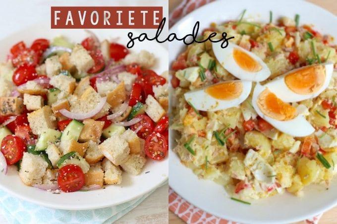 Onze vijf favoriete salades