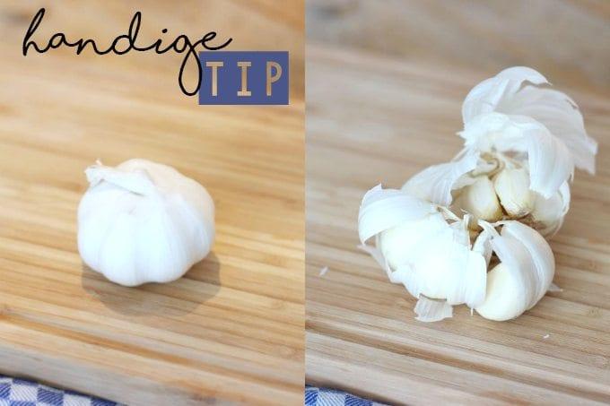 Tip: knoflook- en uiengeur verwijderen