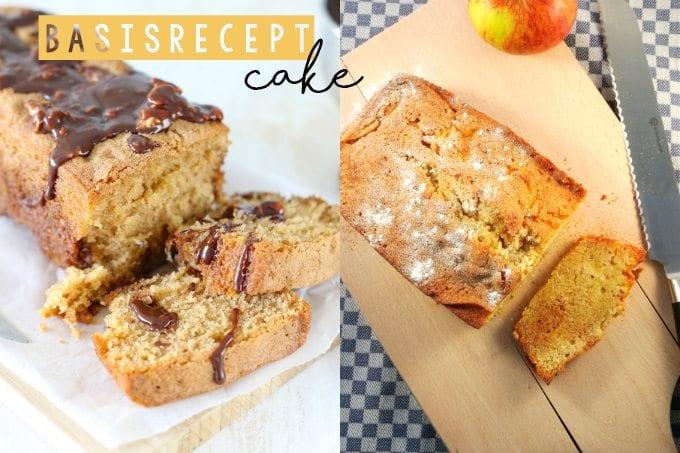 Tip: basisrecept cake