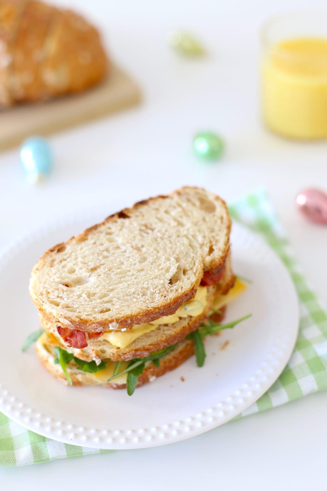 Paasrecept: clubsandwich met eiersalade