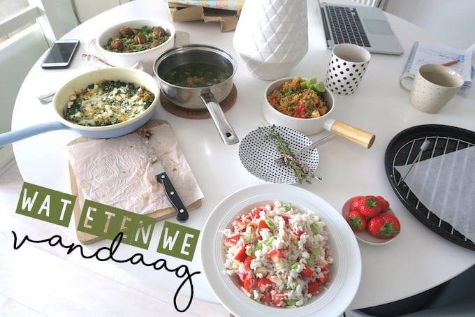 Wat eten we vandaag #85