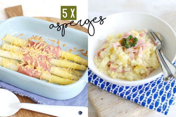 5 recepten met asperges