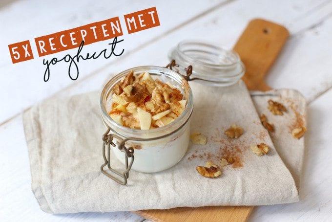 5 recepten met yoghurt