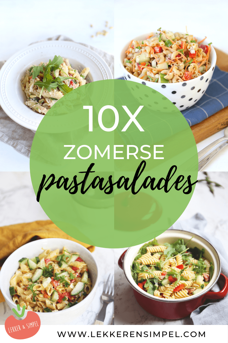 10x zomerse pastasalades