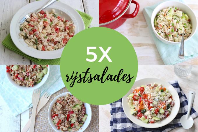 5x rijstsalades