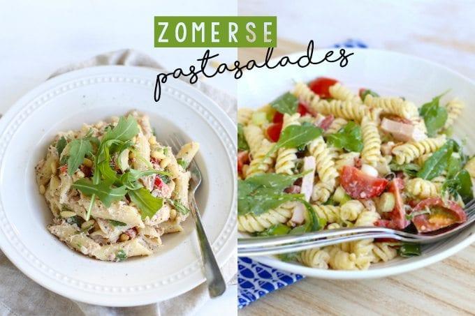 zomerse pastasalades