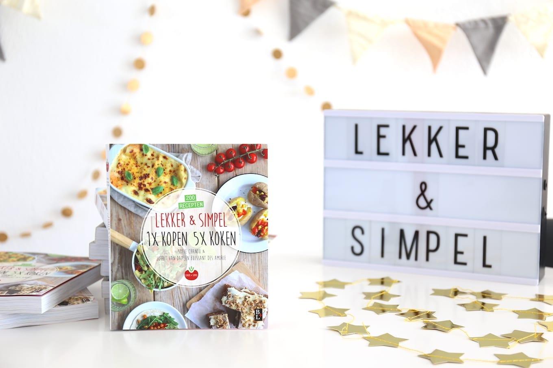 Ons derde kookboek is uit lekker en simpel for Kookboek lekker en simpel