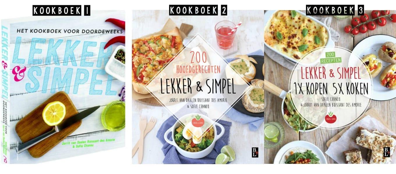 Win ons eerste kookboek lekker en simpel for Kookboek lekker en simpel