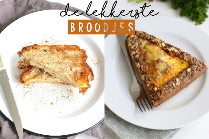 De vijf lekkerste broodjes