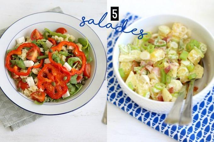 De 5 lekkerste salades