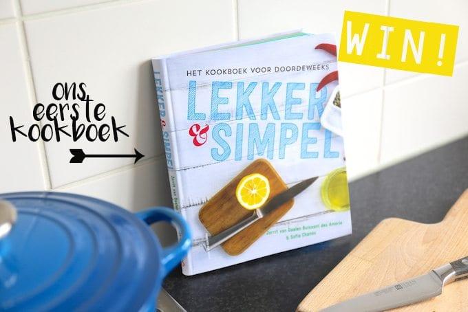 WIN ons eerste kookboek!