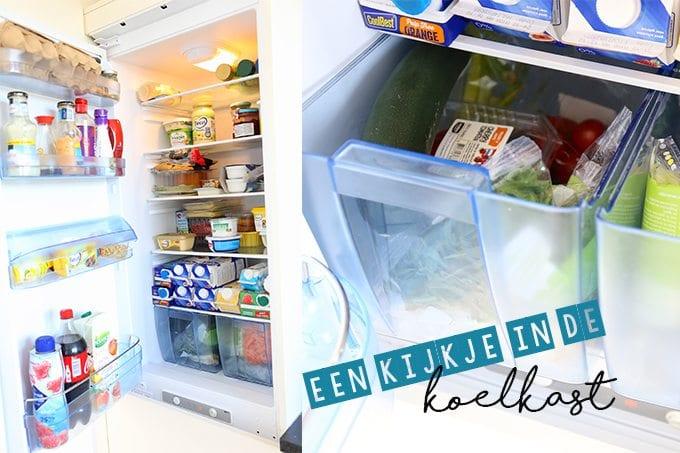 Een kijkje in onze koelkast + win!