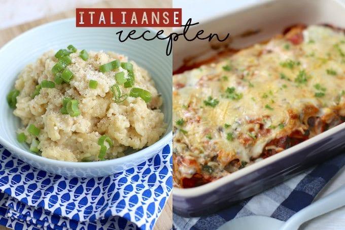 5x de lekkerste Italiaanse recepten