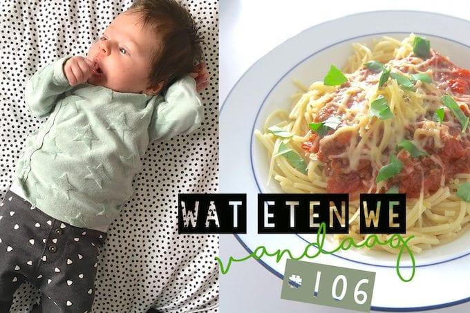 Wat eten we vandaag #106