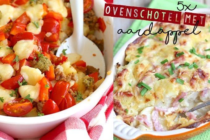 5 ovenschotels met aardappel