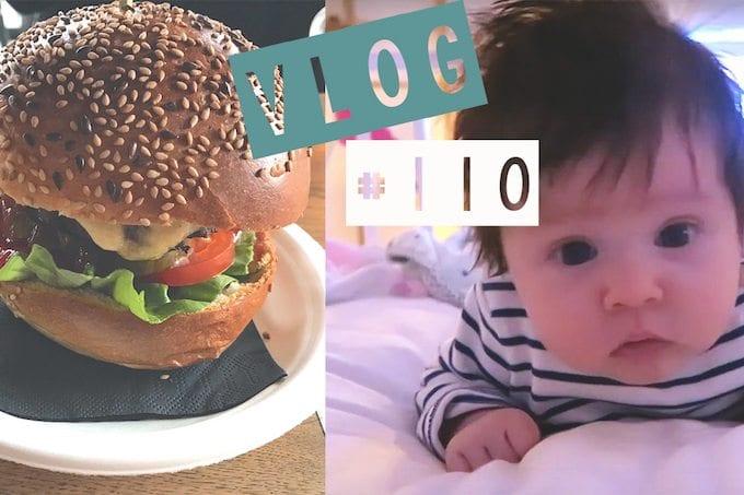 Vlog #110 – Foodhal, baby Evi 7 weken & pulled chicken