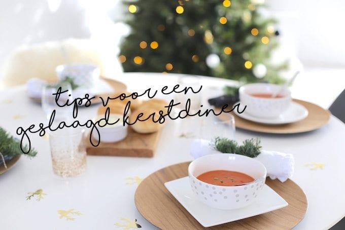 Tips voor een geslaagd (vegan) kerstdiner