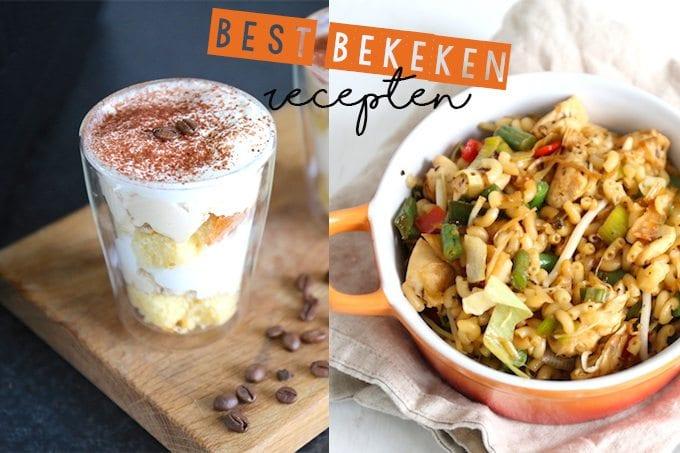 Best bekeken recepten van week 47 - 2017