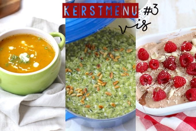 Kerstmenu #3 - vegetarisch