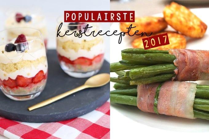 De 10 populairste kerstrecepten van 2017