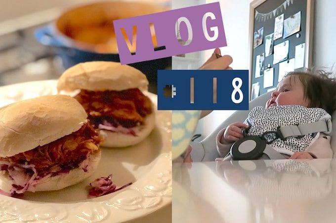 Vlog #118: Evi's eerste hapje