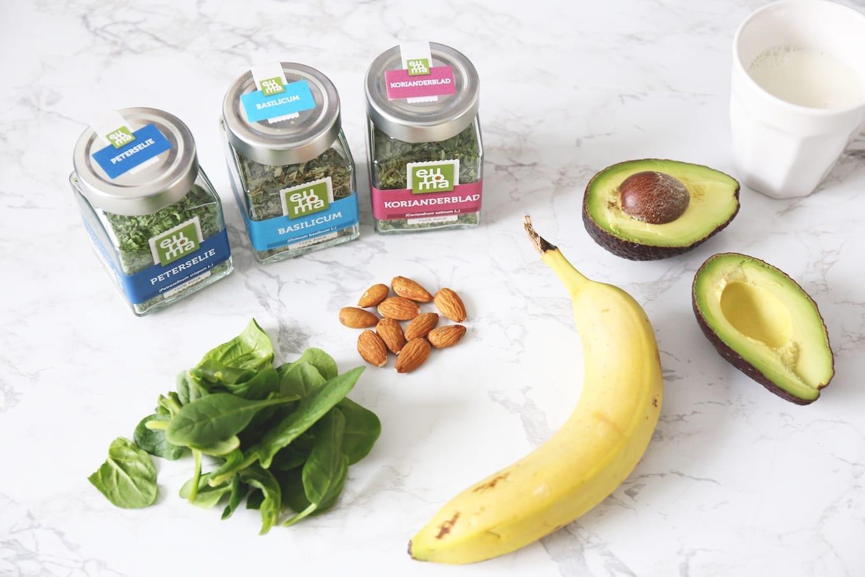 Variëren met groene smoothies