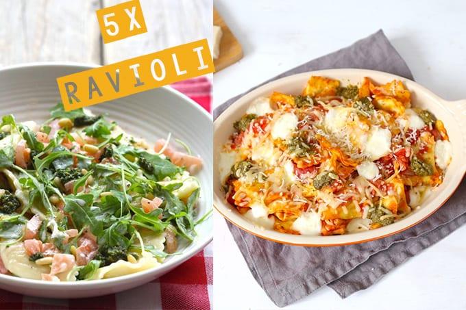 5x ravioli recepten