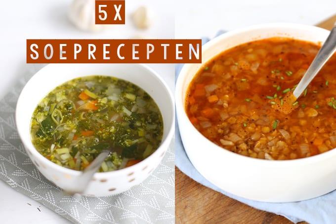 5x soeprecepten
