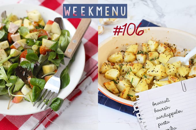 Lekker en Simpel Weekmenu #106