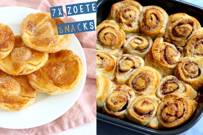 7x zoete snack recepten