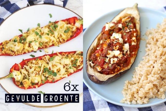 6x gevulde groente