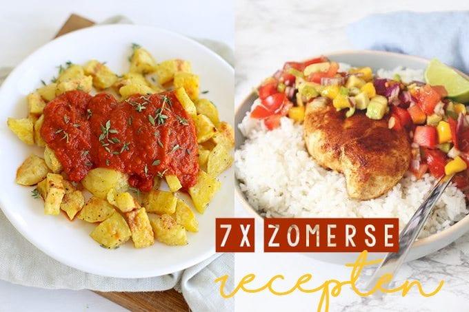 7x zomerse recepten