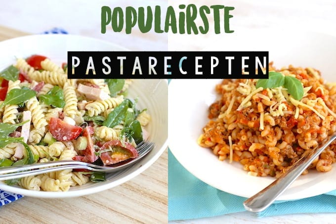 5x populairste pasta recepten