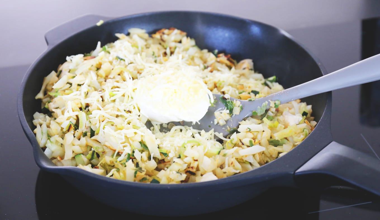 Snel eenpansgerecht met rösti en kip