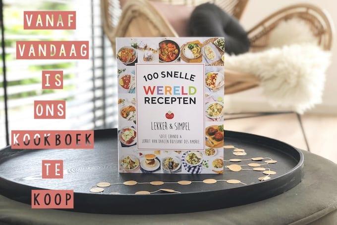 Ons kookboek is vanaf vandaag te koop!
