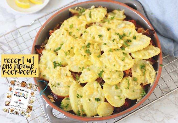 Snelle moussaka (recept uit ons nieuwe kookboek!)