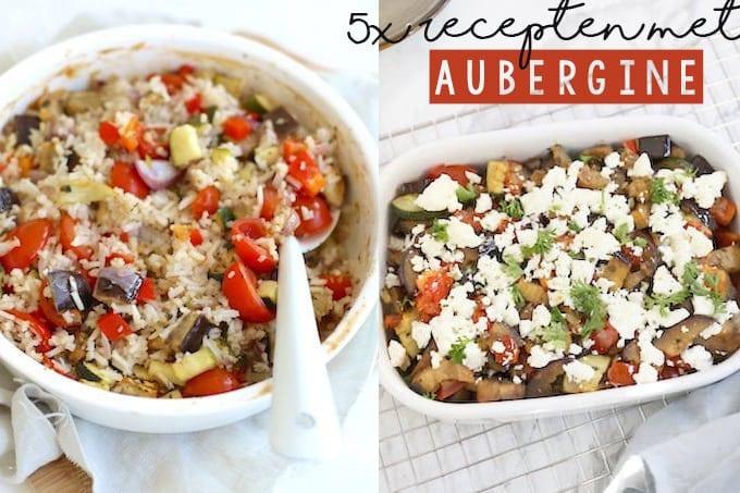 5x recepten met aubergine
