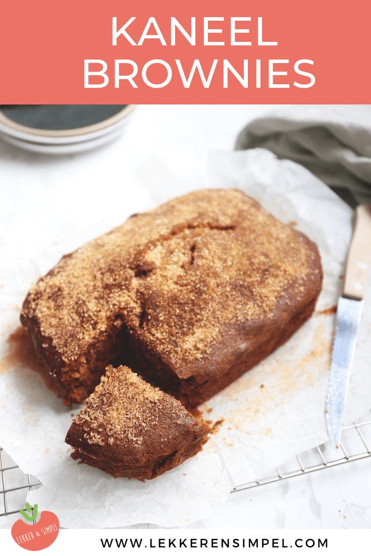 kaneel brownies
