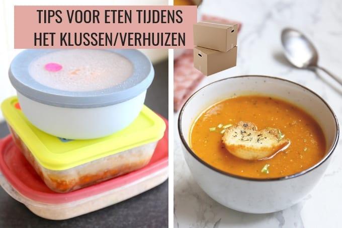 Tips voor lekker eten tijdens het klussen/verhuizen