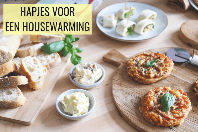 Lekkere hapjes voor een housewarming