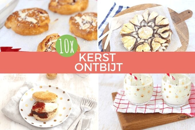 10x recepten voor het kerstontbijt