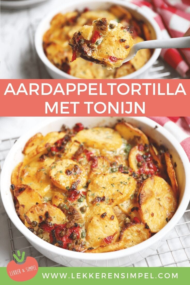 Aardappeltortilla met tonijn