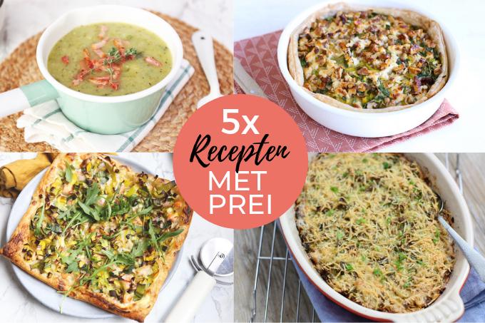 5x recepten met prei
