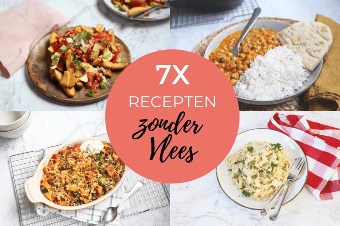 7x recepten zonder vlees